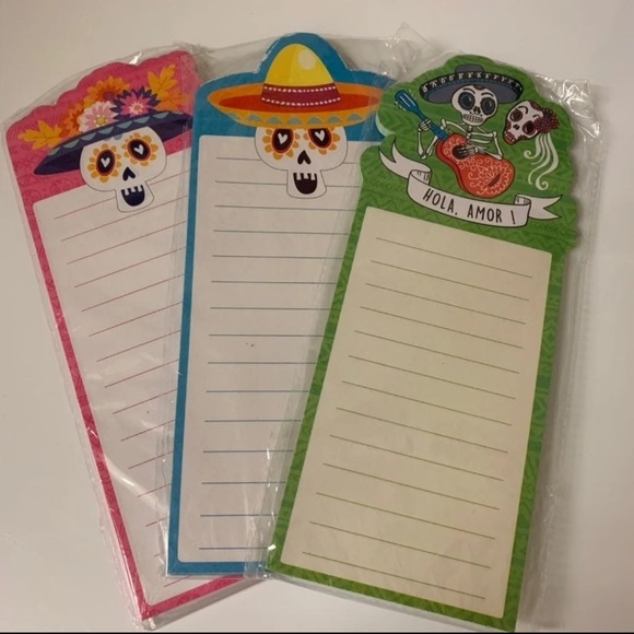 Target Other - Day of The Dead Note Pads